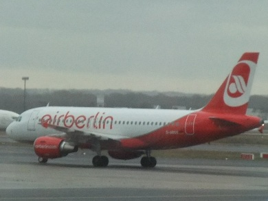 Vol low cost avec Air Berlin