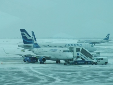 Avion Finlande Finnair