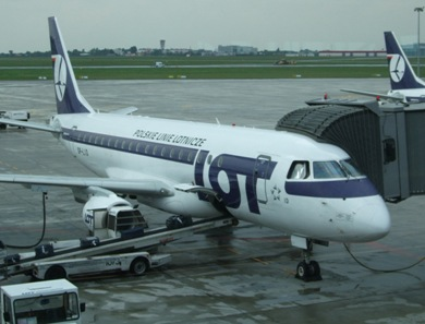 LOT Polish Airlines Website