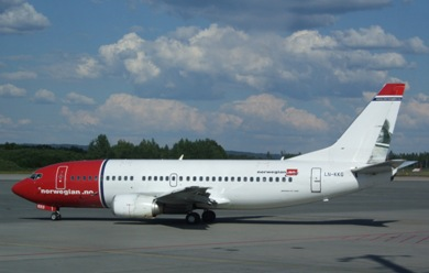 Reserva tu vuelo con Norwegian Air Shuttle