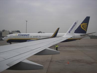 Réservez ici votre vol avec Ryanair