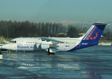 Brussels Airlines website