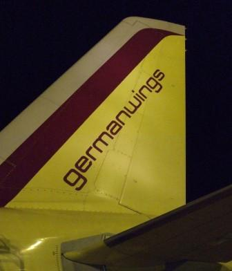German Wings website
